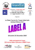 7ème tournoi Minimes du Troyes Aube Judo Label A